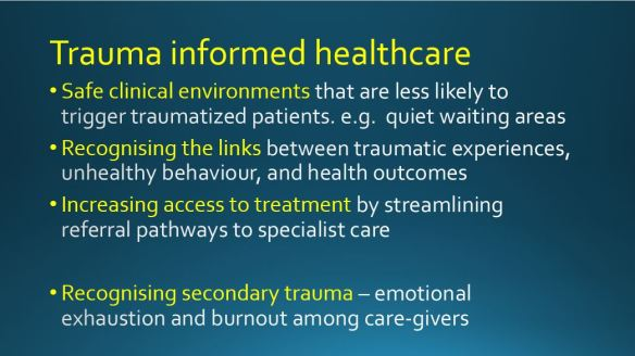 Traumatic Experiences During Early >> We Need To Talk About Trauma A Better Nhs